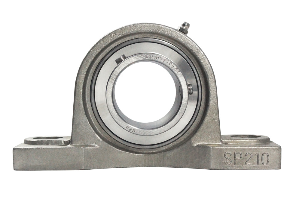 Solid Feet Stainless Steel Pillow Block and Flanges